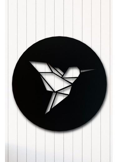 Angemiel Home Kuş Metal Duvar Tablosu Siyah